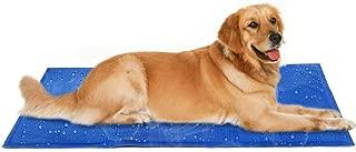 Hoomoi ペット冷却マット ペット用ひんやりマット 犬猫用 多用途 ひえひえ爽快 折り畳み 涼感冷感マット 熱中症 暑さ対策 病予防 冷えマット 冷却ジェルシート90*50cm 大・中・小型犬用
