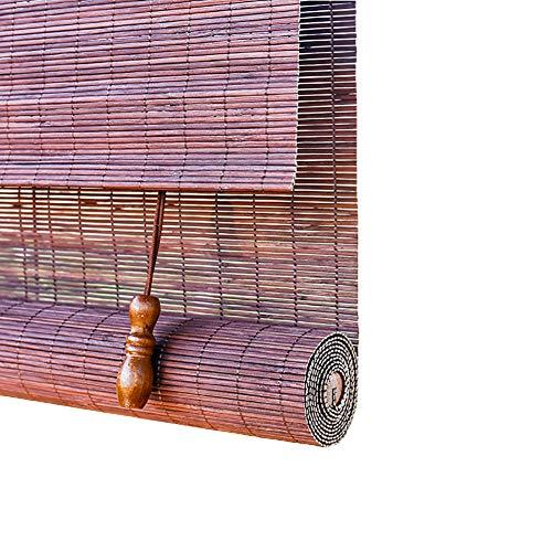 H.ZHOU Außenterrasse Carport Rolläden, wasserdichter Bambus Großer Sonnenschutz for Fenster, Tür, 60/80/100/120/140 cm Breite Sonnenschutz G5105 (Size : 100×210CM)