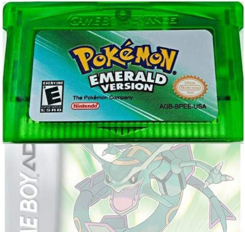 Zillony Pokemon Leaf Emerald Version GBA Pocket Monster Third Party Reproduction Game Card product image