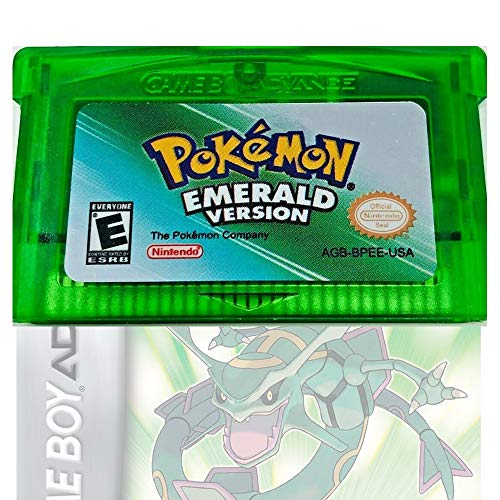 Zillony Pokemon Leaf Emerald Version GBA, Pocket Monster Third-Party Reproduction Game Card