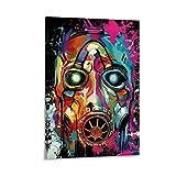 TOUKUI Borderlands 3 Colorful Psycho Poster dekorative