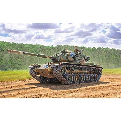 Italeri 6582S 1:35 M60A-3 Kampfpanzer, Modellbau, Bausatz, Standmodellbau, Basteln, Hobby, Kleben, Plastikbausatz, detailgetreu