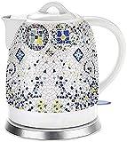 Té de agua inalámbrico de cerámica de la caldera eléctrica 1.5L para la sopa del café del té