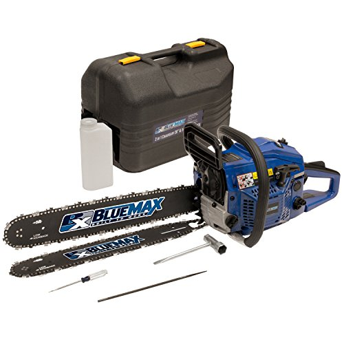 Blue Max 8902 14-Inch 45cc 2-Stroke Gas Powered Chain Saw With...