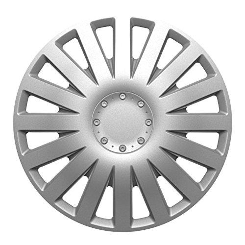 4 Pezzi Moove 1177751 Copricerchi Spark 16 Silver