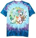 Liquid Blue womens Mushroom Garden T-shirt T Shirt, Tie Dye, Large US