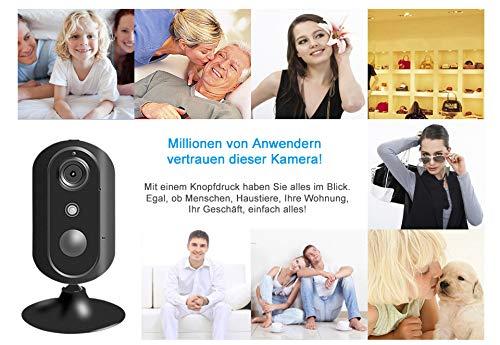 HaWoTEC 4G / LTE Kamera mit Akku für Überwachung IP HD Überwachungskamera mit WLAN 3G 4G LTE GSM Nachtsicht Cloud Speicher (Kamera 4G / LTE)