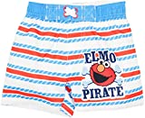 Sesame Street Elmo Infant Baby Boys' Swim Trunks, White (12...