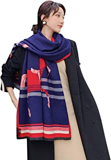 Loosnow Pashmina Kerchief, Women Fashion Scarf, Travel Outdoor Shawl with Tassel