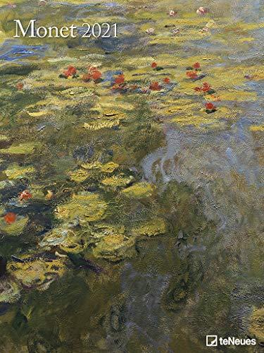 Monet 2021 - Kunst-Kalender - Poster-Kalender - 48x64 (Kunst Klassiker)