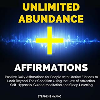 Unlimited Abundance Affirmations audiobook cover art