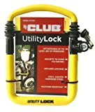 The Club UTL810 Utility Lock, Yellow
