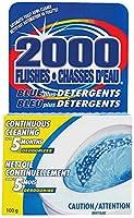 WD-40 90102 2000 Flushes Blue Plus Detergents Automatic Toilet Bowl Cleaner 100g
