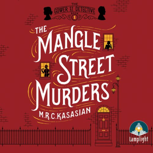 The Mangle Street Murders audiobook cover art