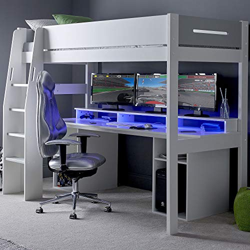 Urban Grey PC Gaming High Sleeper 5