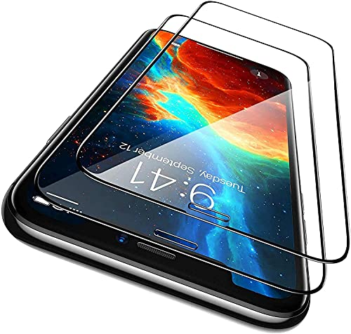 """ZOTRAK 2 Pezzi, Vetro Temperato Compatibile con iPhone 11 e iPhone XR (6.1""""), Pellicola Protettiva dello Schermo Anti Graffio, Anti-Impronte 9H, Super HD Trasparente, [+2 Kit Pulizia schermo]"""