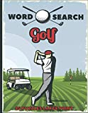 word search golf 45 puzzles large print: the best holiday and christmas gift for adults and kids interessed by golf, brain games