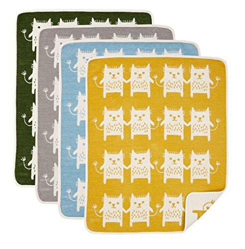 Klippan Little Bear Classic überwürfen und Decken, gelb, 90x 70x 0,4cm