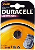 Duracell 10DUCR2025 Lithium Button Cell Battery 3 Volt Set of 10
