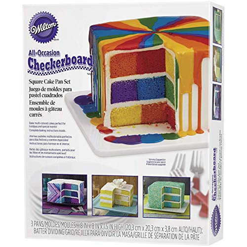 Wilton All-Occasion Gift Box Cake Pan