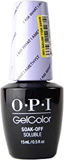 OPI GelColor Soak Off LED/UV Gel Nail Polish T76 I Am What I Amethyst 15ml