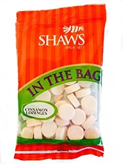 Shaws In The Bag Cinnamon Sweets Hard Candy Lozenges Pack Of 5 Bags
