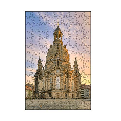 artboxONE-Puzzle S (112 Teile) Reise Frauenkirche in Dresden - Puzzle Dresden barock barockbau