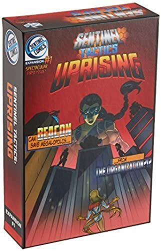 Sentinel Tactics Uprising Board Game by Greater Than Games