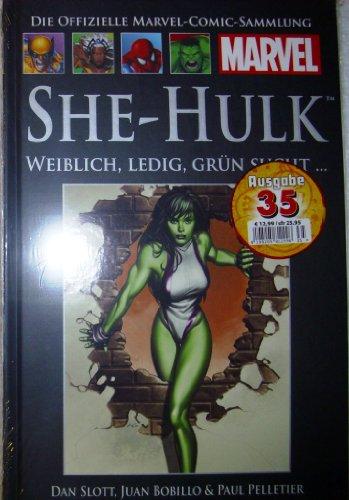 Die offizielle Marvel-Comic-Sammlung 37: SHE-Hulk - Weiblich, Ledig, Grün Sucht...