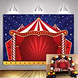 Daniu 7x5FT Fondo de Circo telón de Fondo Fiesta de Vinilo telón de Fondo para los niños...