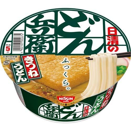 《ケース》 日清食品 日清のどん兵衛 きつねうどん 西 (95g)×12個 カップめん