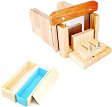 FantasyDay Adjustable Bamboo Soap Mold Loaf Cutter Mold Set #4