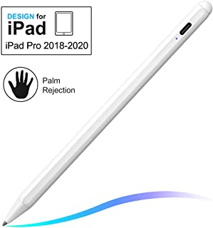 Stylus Pen with Palm Rejection, FOJOJO Active Stylus Compatible with (2018-2020) Apple iPad Pro 11 & 12.9 inch/iPad 7th Gen/iPad 6th Gen/iPad Mini 5th Gen/iPad Air 3rd Gen
