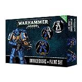 Games Workshop Warhammer 40K Miniatures - Intercessors & Paint Set