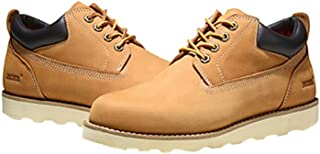 84c9877acda2 Jacata Men s Low Cut Work Or Casual Nubuck Boot with Scothguard 3m  Protection 100% Water