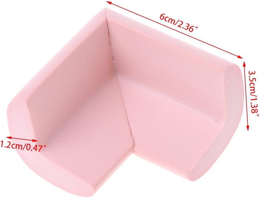 A0127 Coin de table de protection b/éb/é Angle de s/écurit/é Baby coin corner collision Caoutchouc anti-collision Bord souple en forme de L S/écurit/é b/éb/é D/écoration pour enfants Blanc