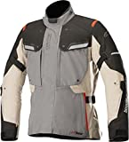 Alpinestars Chaqueta moto Bogota V2 Drystar Jacket Dark Gray Sand Black, Gris/Negro/Arena, XL