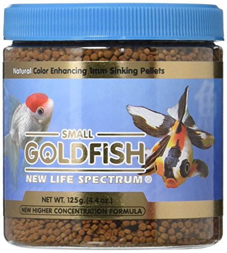 New Life Spectrum Small Goldfish Formula 1mm Sinking Fresh – 125g