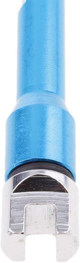 2 colori Set di chiavi per raggi universali per moto Tenlacum 5,0-6,8 mm rosso//blu