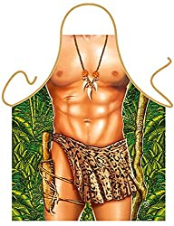 Image: Tarzan Leopard Sexy Kitchen Cooking Apron