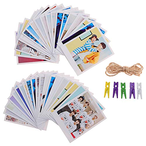 21 Pcs Mini Office Depot Kpop BTS Nuovo album Cartoline Lomo Cards Set Mini Photo Cards Miglior regalo per ARMY 7Pcs // Set