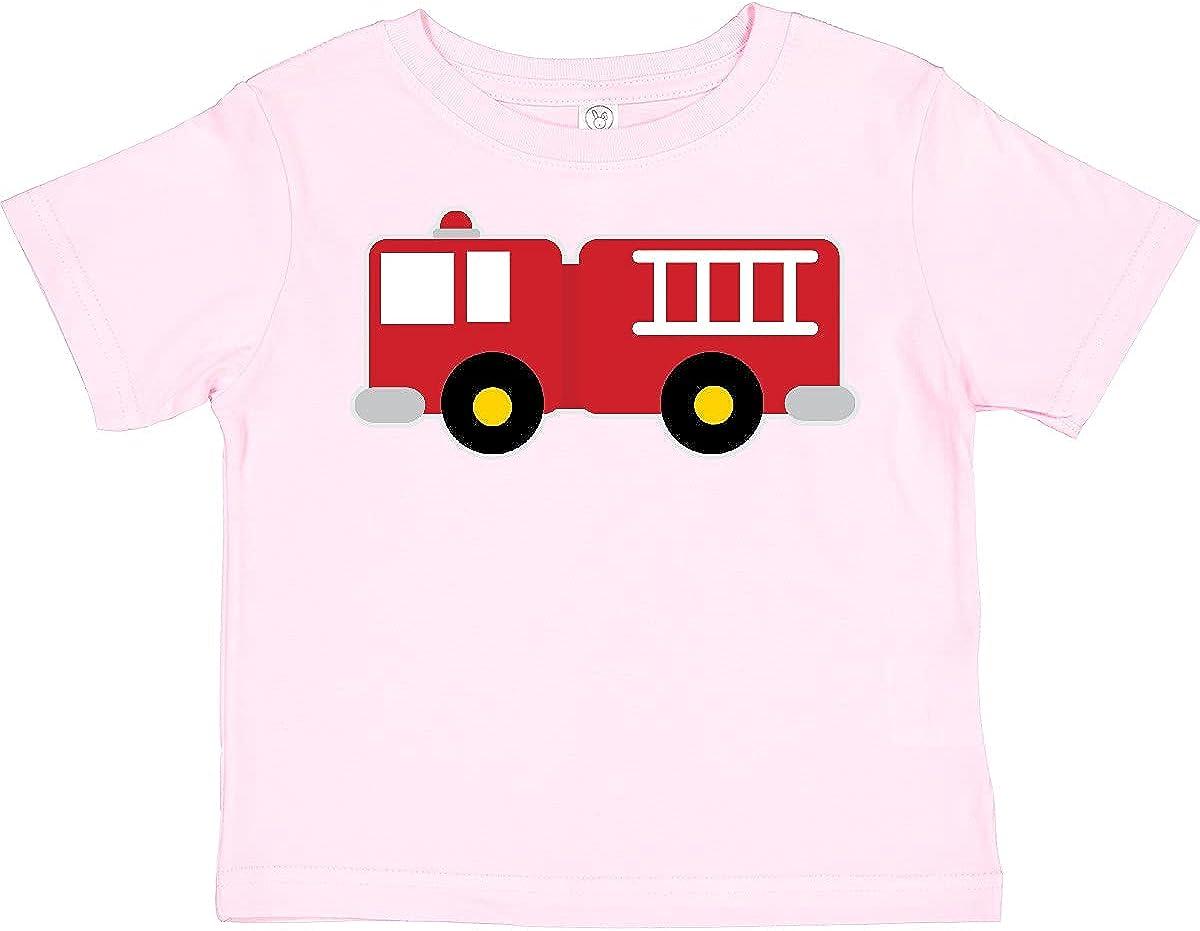 inktastic Fire Truck Childs Fireman Toddler T-Shirt