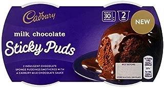 Cadbury Milk Chocolate Sticky Puds - (2 x 95g) 3 Pack