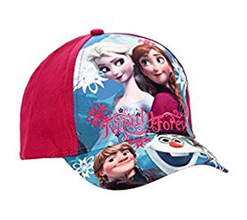 Frozen Die Eiskönigin Baseball Cap Kappe Schirmmütze (54, Violett)