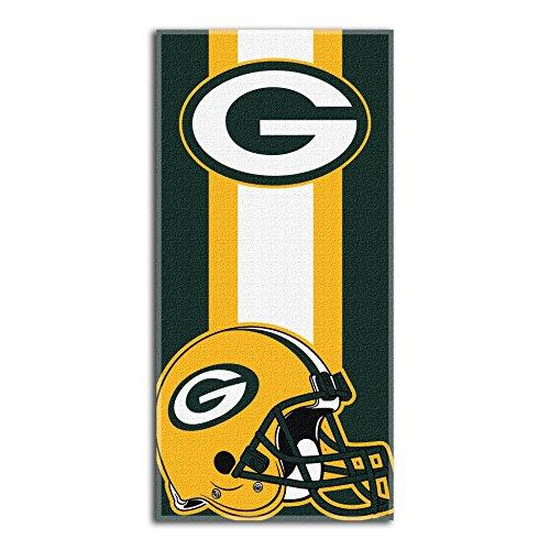 NFL Green Bay Packers 'Zone Read' Beach Towel, 30' x 60'