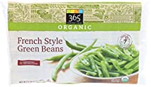 365 Everyday Value, Organic French Style Green Beans, 16 oz (Frozen)