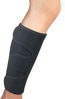 Calf Support Brace Shin Splint Support for Lower Leg Compression Wrap Adjustable