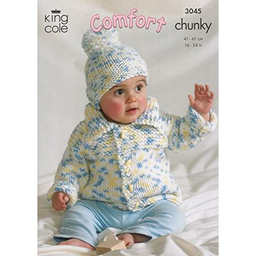 69a1d7af7 Baby Jacket Knitting Pattern  Amazon.co.uk