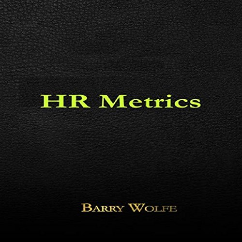 HR Metrics audiobook cover art