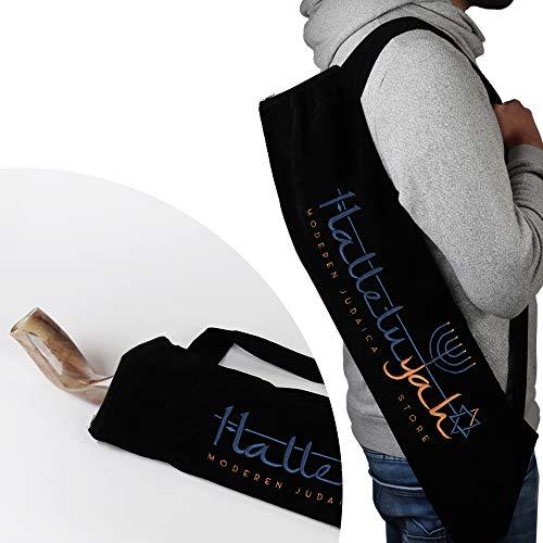 HalleluYAH Shofar Carrying Bag for Yemenite Kudu Shofar, Oryx Shofar or Eland Shofar Horns - Large